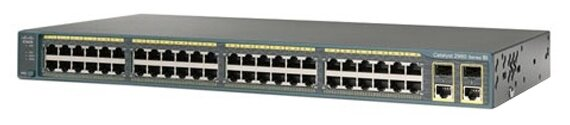 Коммутатор Cisco WS-C2960X-48FPS-L