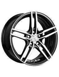 Колесный диск Racing Wheels H-428 6.5x15 4x98 ET35 58.6 BK F/P - фото 1