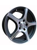 Racing Wheels H-531 6.5x15 4x100 ET 40 Dia 67.1 W-OBK F/P - фото 1