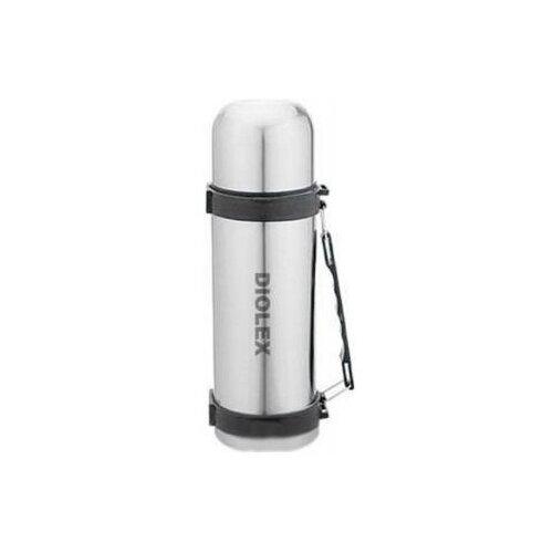 Классический термос Diolex DXT-1000-1, 1 л серебристый