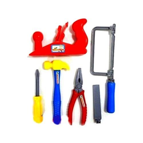 Купить Zhorya Кузя Молотков, 6 предметов (ZYK-021B-2), Детские наборы инструментов