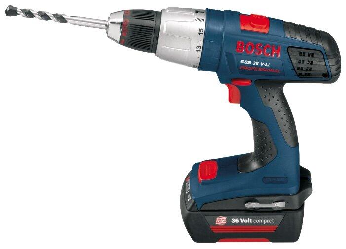 Bosch GSB 36 V-LI 2.6Ah x2 Case