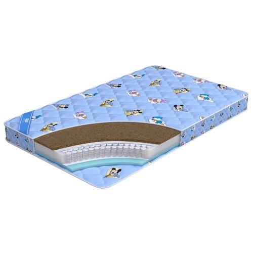 Матрас детский Промтекс-Ориент Teen Стандарт Комби 80x200 пружинный голубой