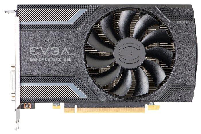 EVGA GeForce GTX 1060 1607Mhz PCI-E 3.0 6144Mb 8008Mhz 192 bit DVI HDMI HDCP