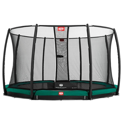Каркасный батут Berg InGround Favorit + Safety Net Deluxe 380