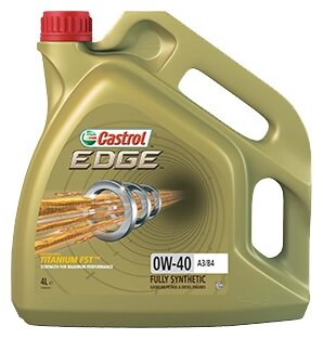 Castrol Edge 0W-40 A3/B4 4 л