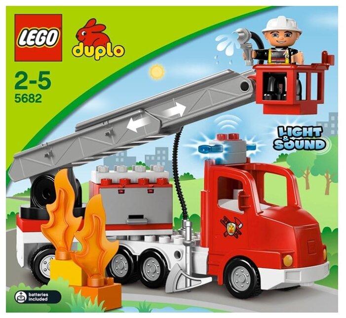 Конструктор LEGO DUPLO 5682 Пожарный грузовик