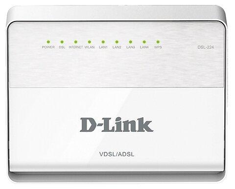 D-link Wi-Fi роутер D-link DSL-224