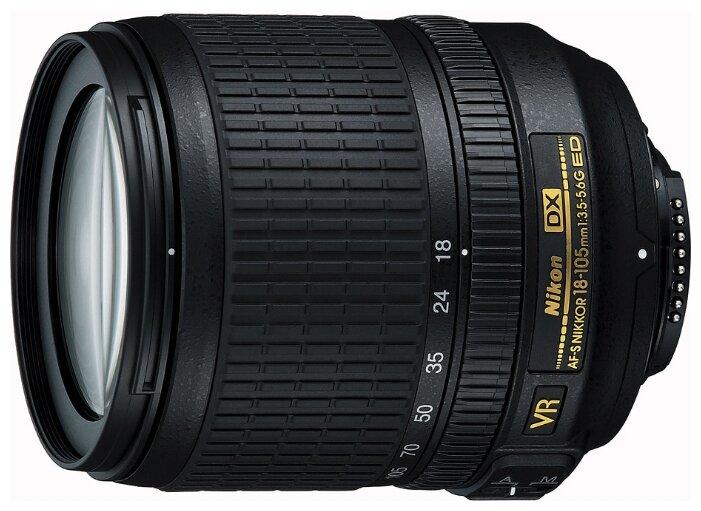 Nikon Объектив Nikon 18-105mm f/3.5-5.6G AF-S ED DX VR Nikkor