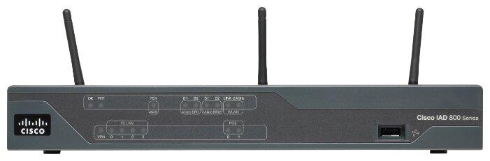 Cisco Wi-Fi роутер Cisco 888W-GN-E-K9