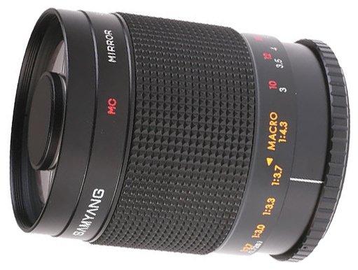 Объектив Samyang 500mm f/8 MC IF Mirror Pentax K/KAF/KAF2