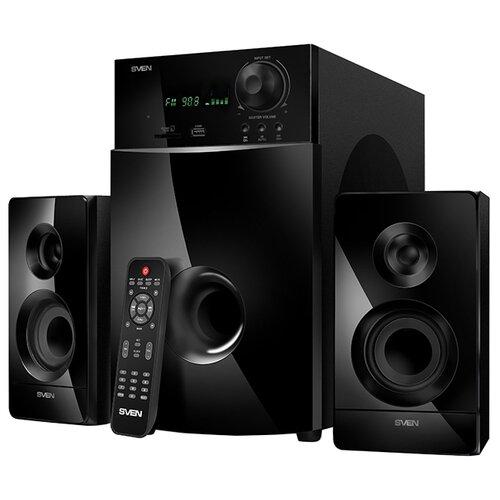 Фото - Компьютерная акустика SVEN MS-2100 черный sven ms 2250 черный