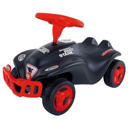 Каталка-толокар BIG Bobby Car Fulda New (56163) со звуковыми эффектами черный/красный big машинка big bobby car racer