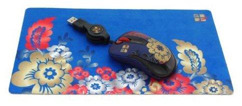 Мышь G-CUBE GLMF-6127W Blue USB