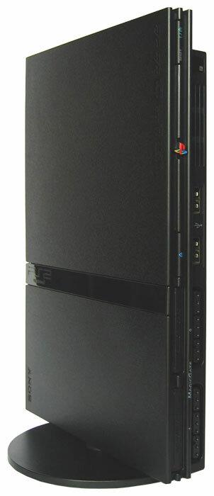 Игровая приставка Sony PlayStation 2 Slim (цвет черный)
