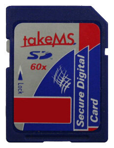 Карта памяти TakeMS SD-Card HighSpeed 60x