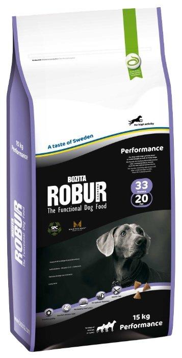 Корм для собак Bozita Robur Performance для здоровья кожи и шерсти 15 кг