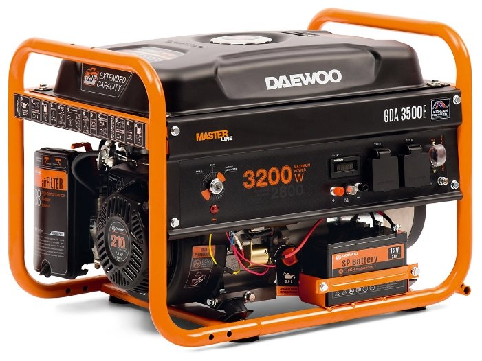 Daewoo Power Products GDA 3500E