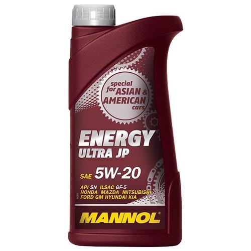 Моторное масло Mannol Energy Ultra JP 5W-20 1 л моторное масло mannol energy formula pd 5w 40 1 л