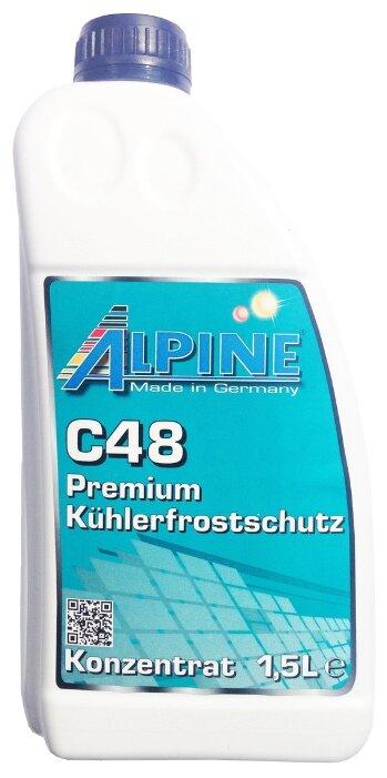 ALPINE C48 Blau