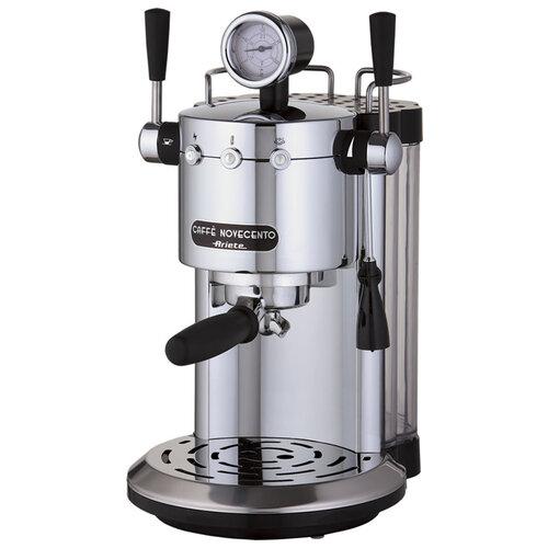 Кофеварка рожковая Ariete 1387 Caffe Novecento серебристый