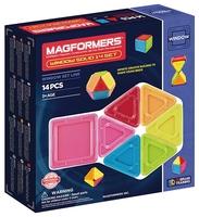 Магнитный конструктор Magformers Window Solid 714005-14