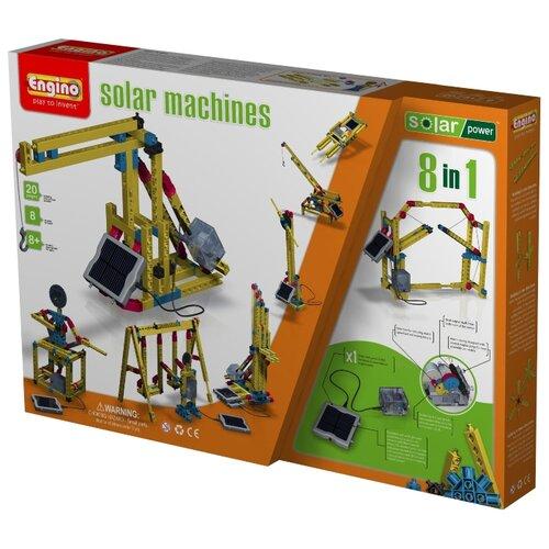Купить Электромеханический конструктор ENGINO Solar Power S10 Solar Machines 8in1, Конструкторы
