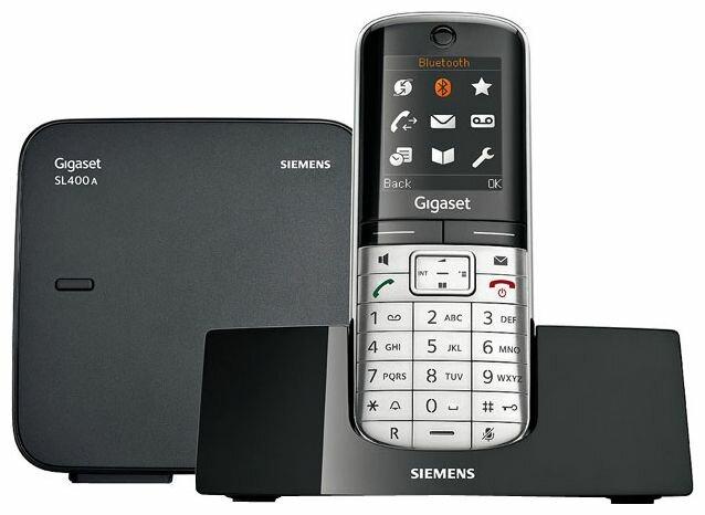 Gigaset Радиотелефон Gigaset SL400A