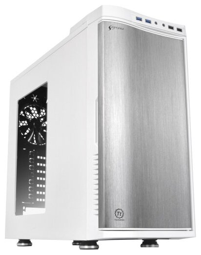 Компьютерный корпус Thermaltake New Soprano Snow Edition Window VO900M6W2N White