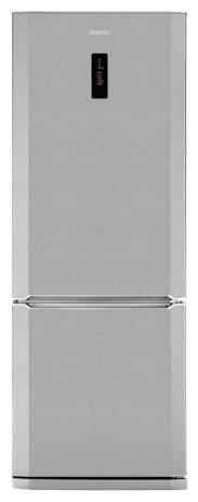 BEKO Холодильник Beko CN 148220 X нержавеющая сталь (двухкамерный)