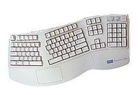 Клавиатура SVEN Ergonomic 3000 White PS/2