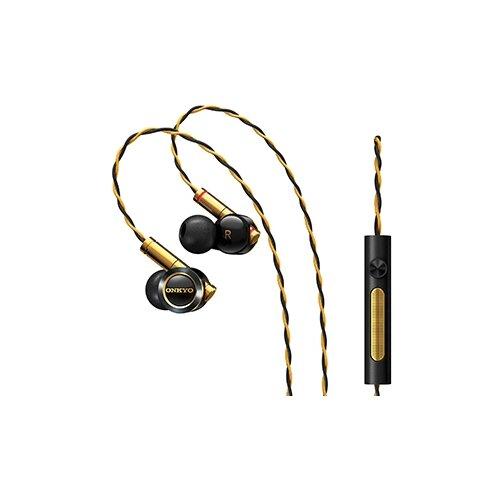 Наушники Onkyo E900M, black/gold