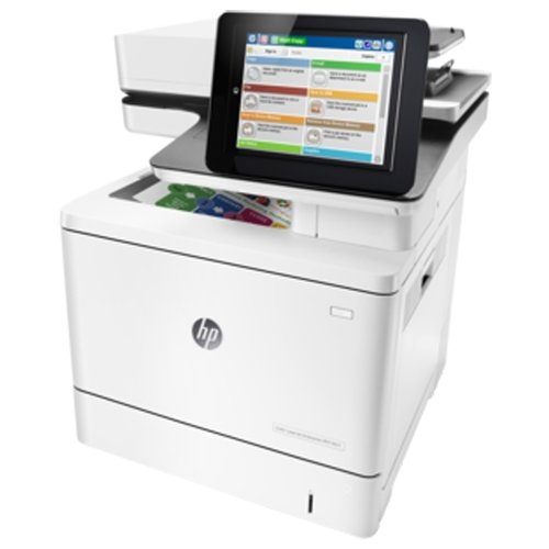 МФУ HP Color LaserJet Enterprise M577dn белый
