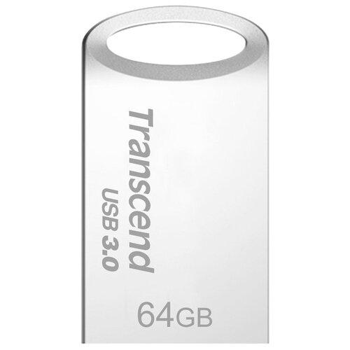 цена на Флешка Transcend JetFlash 710S 64Gb серебристый