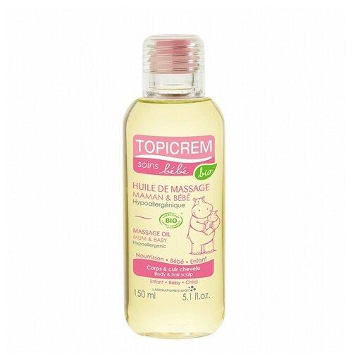 Topicrem Массажное масло для тела и кожи головы для детей и мам