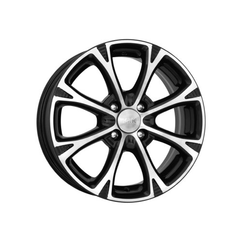Фото - Колесный диск K&K Блюз 6х15/4х100 D54.1 ET48, 8 кг, Алмаз черный колесный диск tech line 544 6х15 5х105 d56 6 et39 7 2 кг s