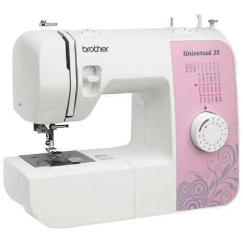 Фото - Швейная машина Brother Universal 25, бело-розовый швейная машина brother artcity 170s бело синий