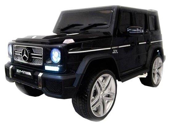 Детский электромобиль Rivertoys Mercedes-Benz G65-AMG черный