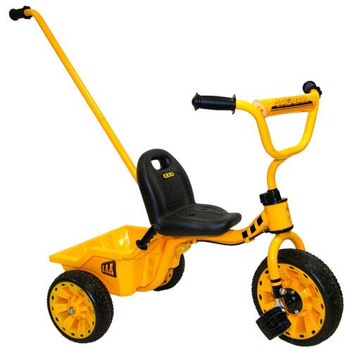 Купить Трехколесный велосипед JAGUAR MS-0569 желтый, Трехколесные велосипеды