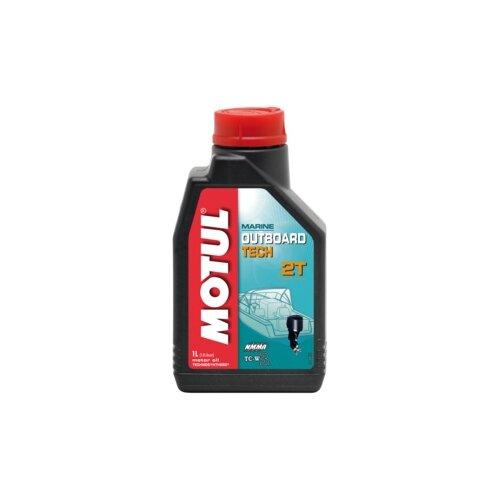 Моторное масло Motul Outboard Tech 2T 1 л motul outboard tech 4t 10w30 2л