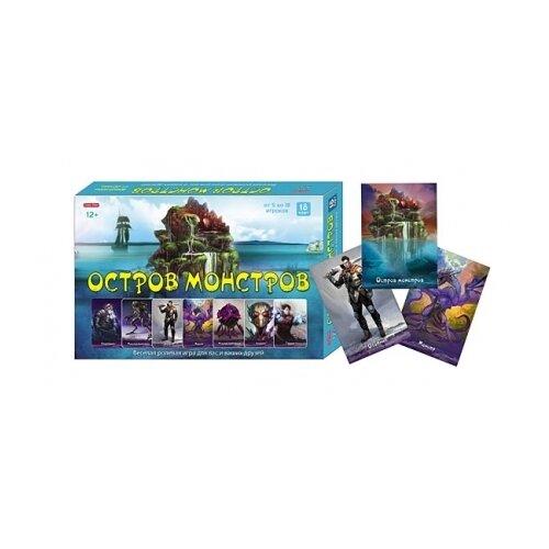 Настольная игра Рыжий кот Остров Монстров ИН-0086 настольная игра рыжий кот союзмультфильм ну погоди ин 5027