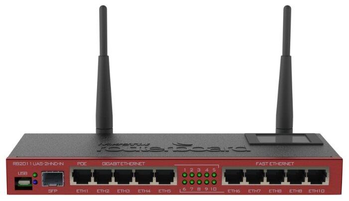 Wi-Fi роутер MikroTik RB2011UAS-2HnD-IN