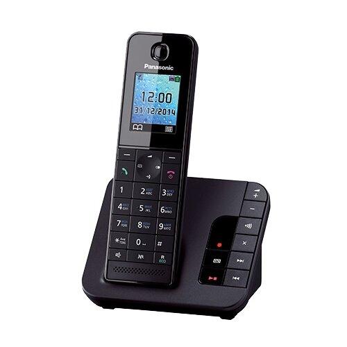 Радиотелефон Panasonic KX-TGH220 черный