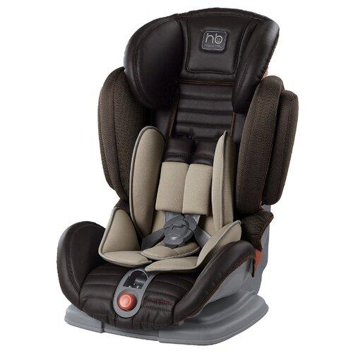 Автокресло группа 1/2/3 (9-36 кг) Happy Baby Mustang, brown автокресло happy baby mustang 2015 gray
