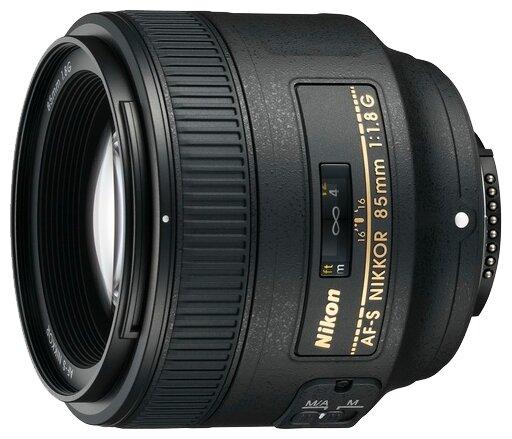 Nikon Объектив Nikon 85mm f/1.8G AF-S Nikkor