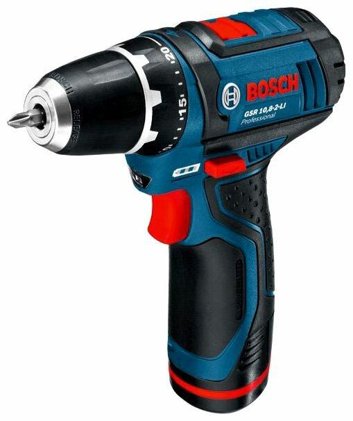 Bosch GSR 10,8-2-LI 2.0Ah x2 L-BOXX