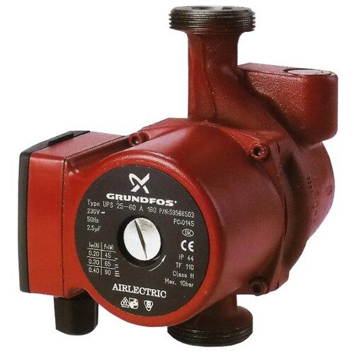 Циркуляционный насос Grundfos UPS 25-60 A 180 (70 Вт)