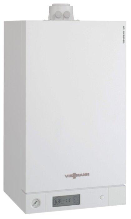 Газовый котел Viessmann Vitodens 100-W B1HC046 35 кВт одноконтурный — купить по выгодной цене на Яндекс.Маркете