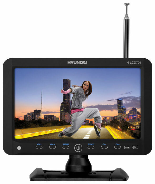 Автомобильный телевизор Hyundai H-LCD701