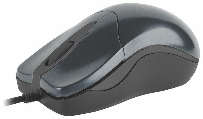 Мышь SPEEDLINK PICA Flexcable micro mouse retractable SL-6164-SGY dark Silver USB